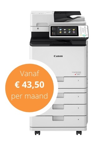 leaseprinter aanbedieding
